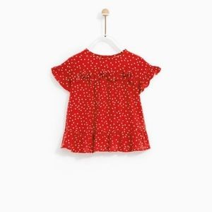 Zara (NWT) baby girl blouse